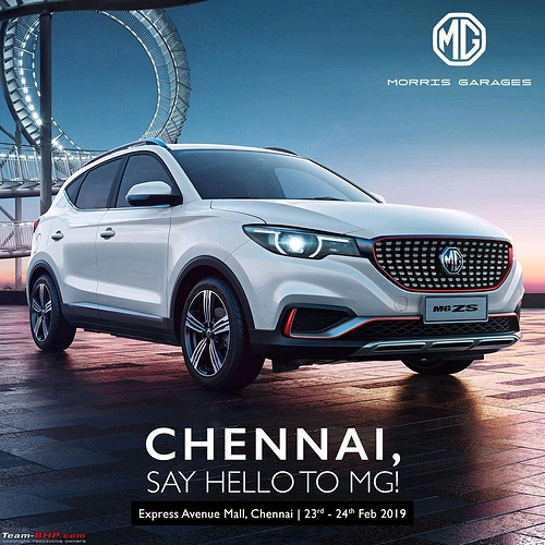 Chinese Owned Mg Morris Garages Debuts In Indian Auto