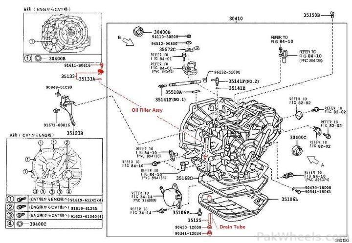 transmission oil change of toyota vitz  belta  passo    k410
