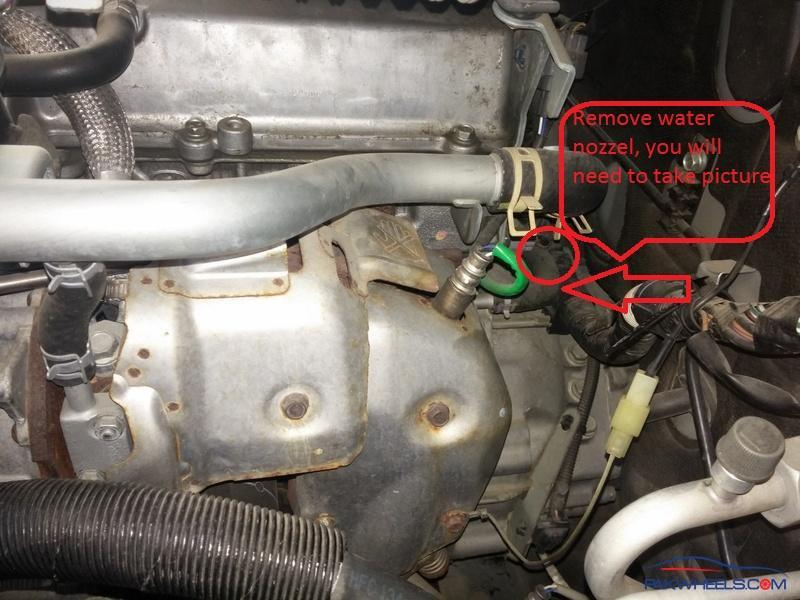 engine number location  terios kid  daihatsu models discussion forums  cars