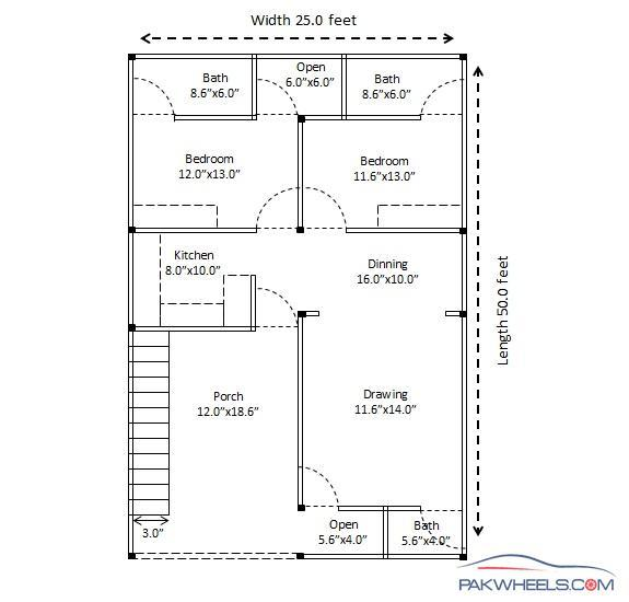 Building A Low Cost 25x50 House In Islamabad Suggestions